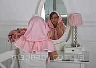 "Церковный платок ""Жасмин"", розовый"