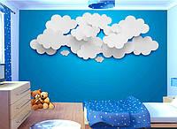 "3D фотообои ""Белые облака"""