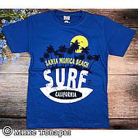 Синяя футболка для подростка Размеры: 134,140,152,164 см (6251-3)