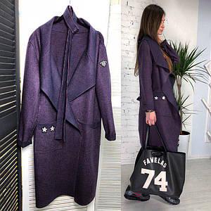 Женское стильное пальто ЛД-65