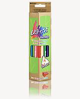 Карандаши цветные 12 цветов, с точилкой, Grip-Rite Jumbo, Marco, 9400-12CB, 245258