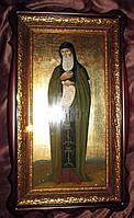 Ростовая писаная икона Святого Антония Печерского, фото 1