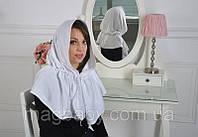 """Церковный платок """"Жасмин"""", белый"""