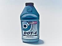 Тормозная жидкость DOT-4 серебр.кан 430г, LUXE