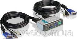 Коммутатор консолей (KVM Switches) D-Link KVM-121