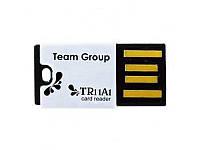 Card reader внешний Team (T11A1B01) microSD/microSDHC Black