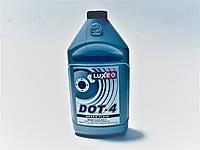 Тормозная жидкость DOT-4 серебр.кан 760г, LUXE