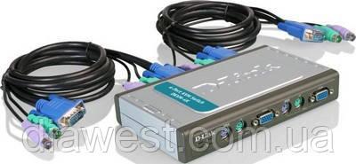 Коммутатор консолей (KVM Switches) D-Link DKVM-4K