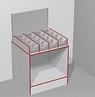 Прилавок-витрина кондитерская открытая с ячейками на 16 секций ЭК-19 (серия ЭК), фото 1