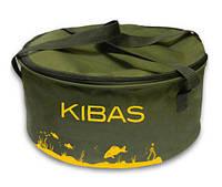 Ведро Kibas для прикормки с крышкой SMART Fishing 6052