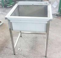 Ванна моечная из нержавеющей стали М1Б-201/430-500*500*850/300