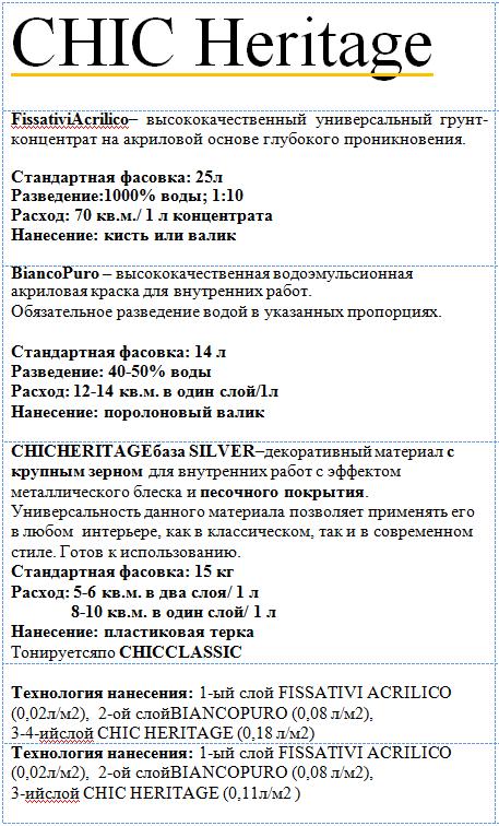 шик херитаж