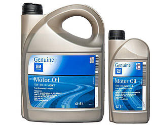 GM GENUINE MOTOR OIL 5W-30 DEXOS2 5л