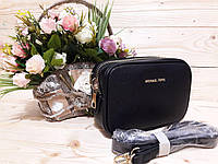 Вечерний брендовый клатч Michael Kors с широкой змейкой (маленькая сумочка)