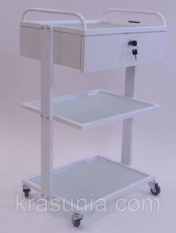 Тележка косметологическая MEDIC 40х50 см