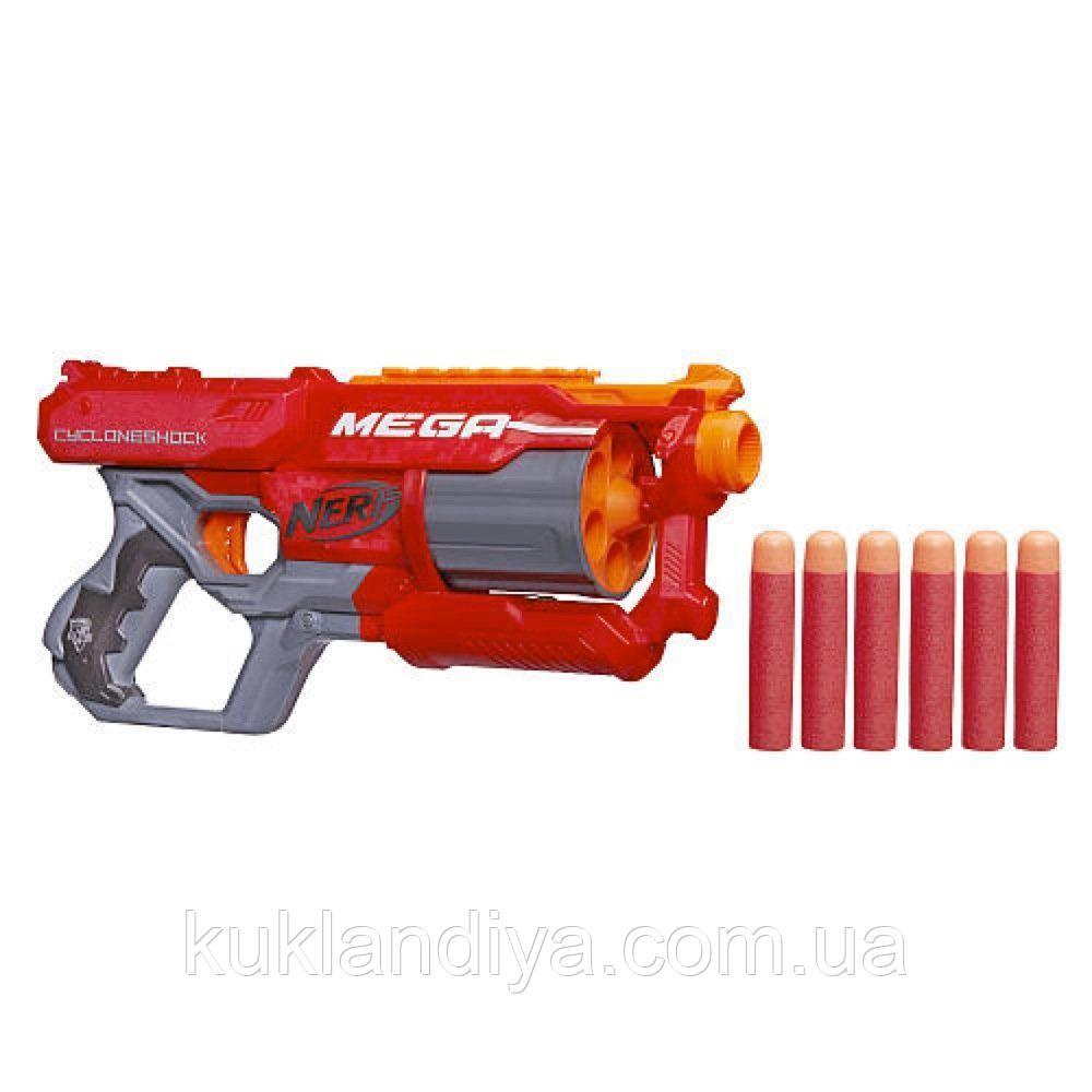 Бластер Нерф Мега Циклон Шок Nerf N-Strike Elite Mega CycloneShock Blaster