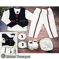 Нарядный костюм для малыша Размеры: 0-3 месяцев (6260)