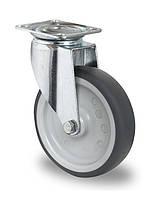 Колесо аппаратное поворотное с подшипником скольжения 125 мм (Германия)