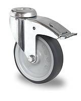 Колесо аппаратное поворотное с подшипником скольжения 100 мм (Германия)