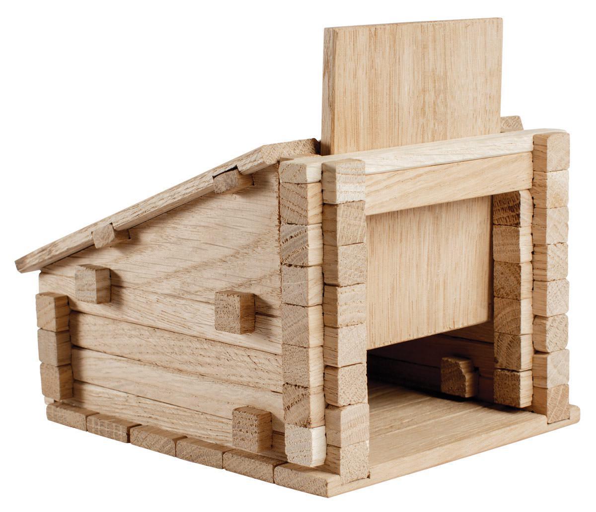 Деревянный конструктор Гараж 79