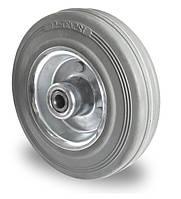 Колесо с роликовым подшипником 80 мм, сталь/серая резина (Германия)