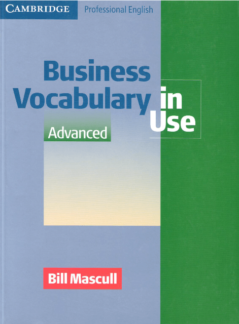 Business Vocabulary in Use: Advanced (з відповідями)