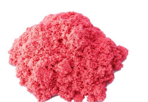 Кинетический песок красный (Kinetic Sand red) + контейнер