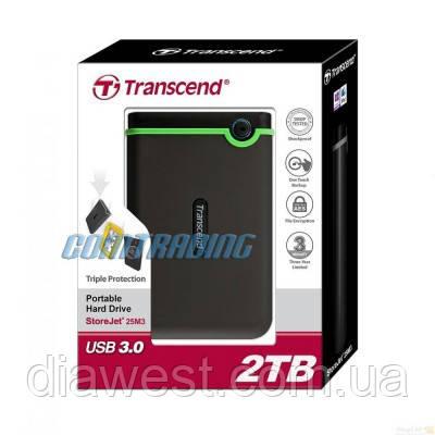 Внешний жесткий диск Transcend TS2TSJ25M3