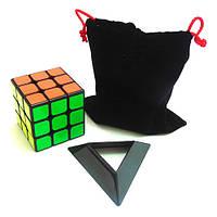 Набор кубик Кубик Рубика 3х3 + чехол + подставка