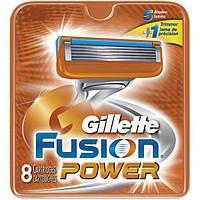 Fusion Power 8 шт./уп.Gillette сменные кассеты