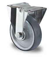 Колесо неповоротное с роликовым подшипником 80 мм, полипропилен/термопластичная резина (Германия)