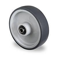 Колесо полипропилен/термопластичная резина 80 мм, подшипник роликовый (Германия)