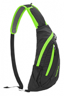 Рюкзак-сумка Chest Bag 6 л black&green