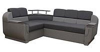 Угловой диван Garnitur.plus Барселона серый 255 см