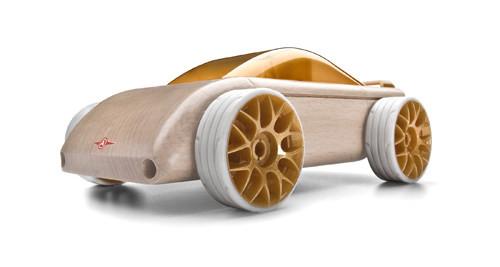 Деревянная машинка мини спорткар C9-S Berlinetta mini
