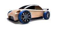 Деревянная машинка мини седан S9-R sport sedan