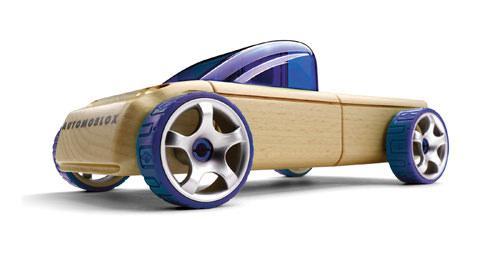 Деревянная машинка мини внедорожник T9 Pick-up mini