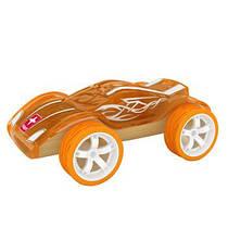 Деревянная игрушка машинка из бамбука Twin Turbo