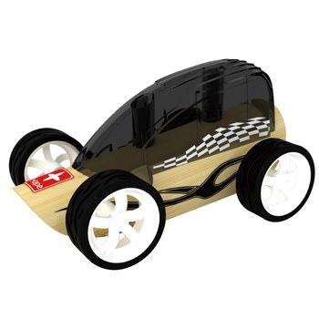 Деревянная игрушка машинка из бамбука Low Rider