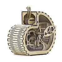 Механический 3D пазл Улитка-копилка, фото 1
