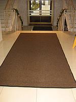 Килимок біля дверей «Поляна» (темно-коричневий), фото 1