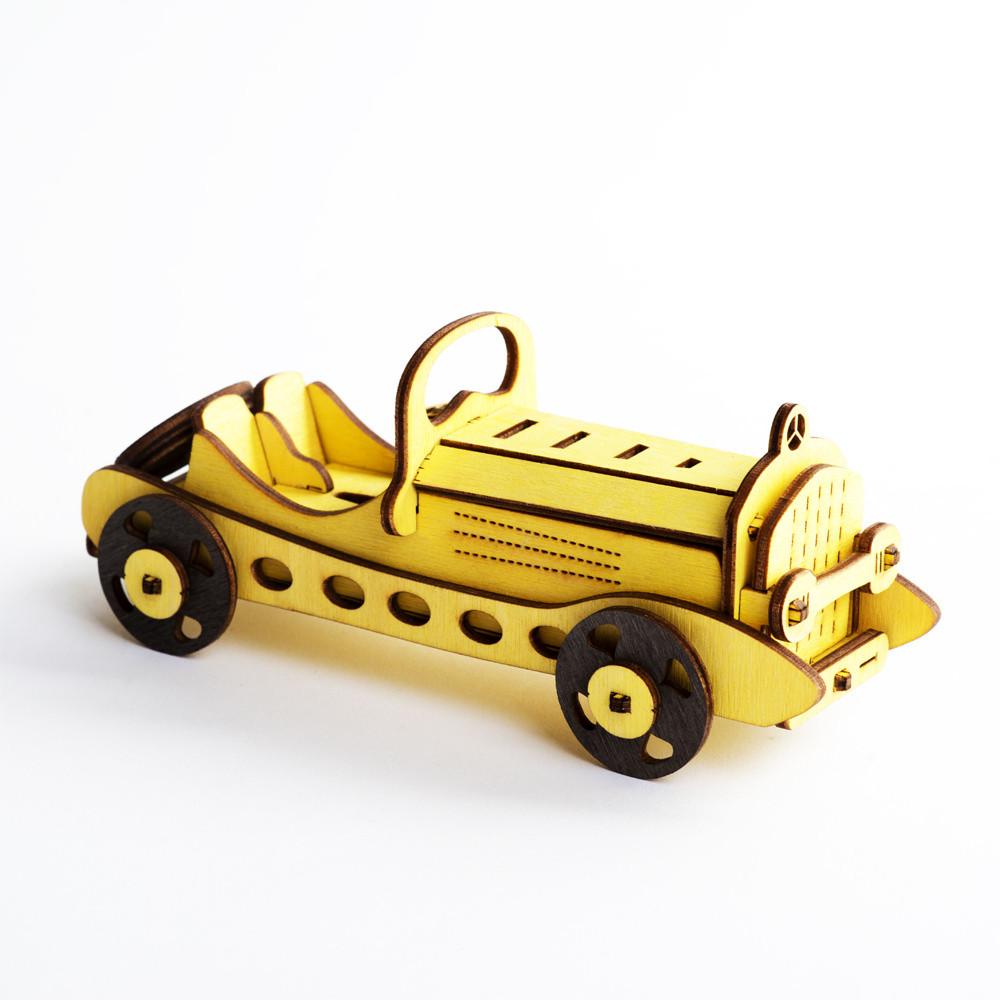3Д пазл Ретро-кар
