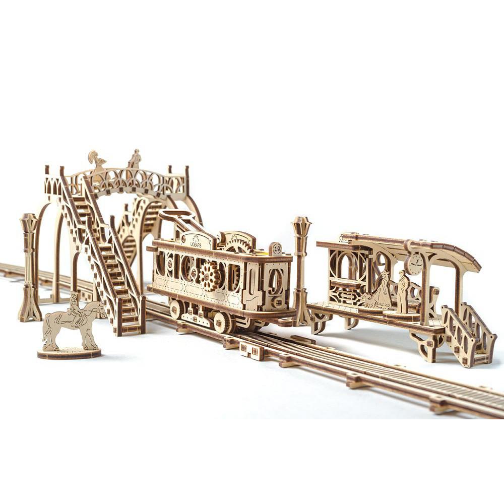 Механический 3D пазл Трамвайная линия
