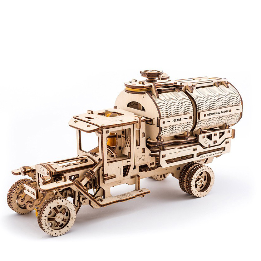Механический 3D пазл Автоцистерна