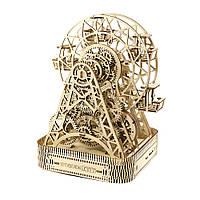 Механический 3D пазл Колесо обозрение WOODEN.CITY