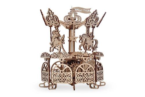 Механический 3D пазл Карусель