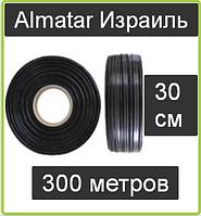 Капельная лента Almatar Израиль 300 метров расстояние 30 сантиметров Альматар эмиттерня 8 миль