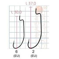 Крючок Gurza SPORT B-12 BC KE-3201 №6