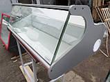 Холодильная витрина настольная Днепро б/у., витрина гастрономическая бу., фото 3