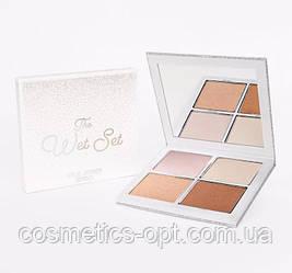 Хайлайтер Kylie Cosmetics The Wet Set Pressed Illuminating Powder (реплика)